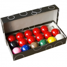 Competition 2-inch 17-ball Snooker Set