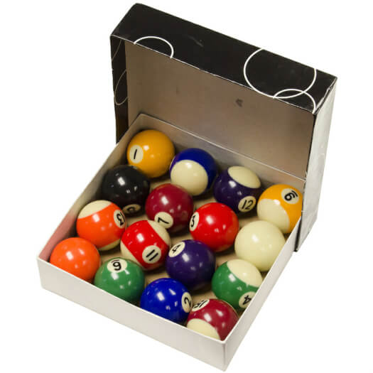 Strikeworth 1 1/2-Inch Pool Ball Set