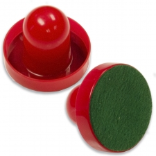 Tekscore 65mm Red Air Hockey Pusher