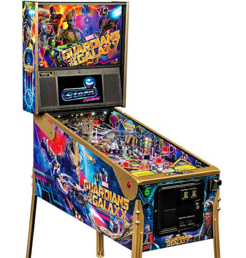 Stern Guardians Of The Galaxy LE Pinball Machine