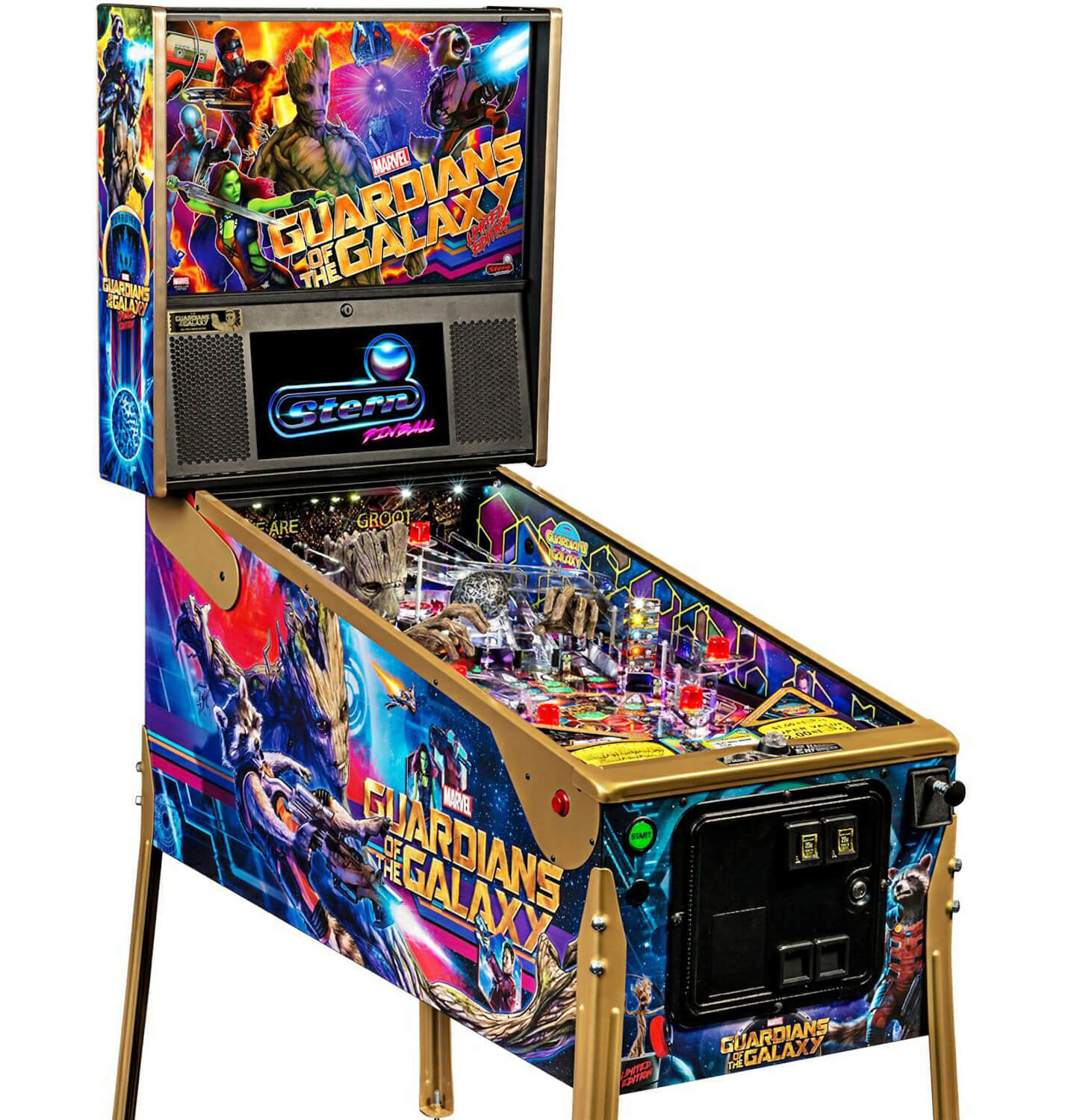 Guardians of the Galaxy LE Pinball