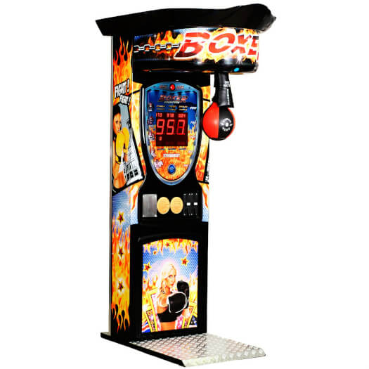 Boxer Fire Boxing Arcade Machine