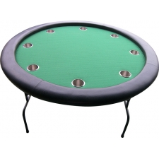 Buffalo Round 8-Person Poker Table