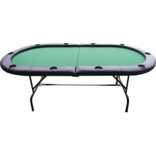 Buffalo Gambler 10-Person Poker Table