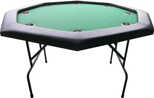 Buffalo Octagon Poker Table
