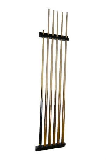 Tekscore Plastic Wall-Mounted Cue Rack for 6 Cues