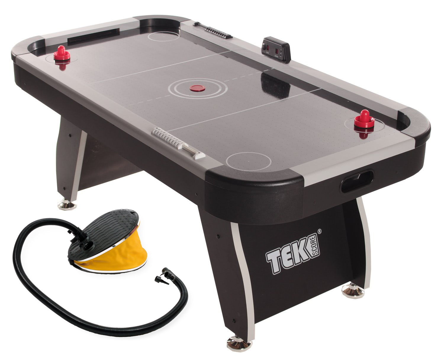 Merveilleux Infla Table Foot Pump Portable Air Hockey Table