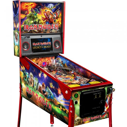Stern Iron Maiden: Legacy Of The Beast LE Pinball Machine