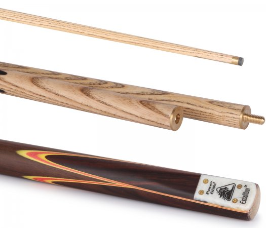 PowerGlide Excalibur 3pc 57in English Pool Cue