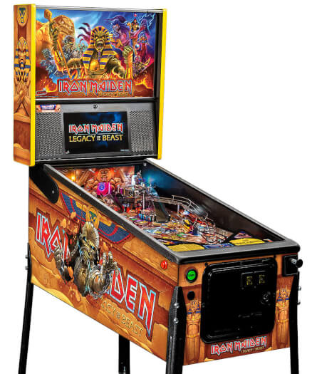 Stern Iron Maiden: Legacy Of The Beast Premium Pinball Machine
