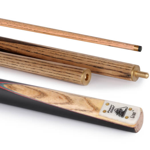 PowerGlide Lion 57in 3pc English Pool Cue