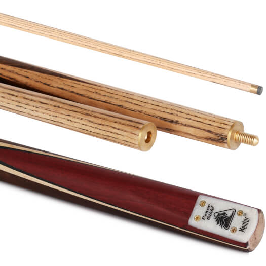 PowerGlide Mentor 55in 3pc English Pool Cue