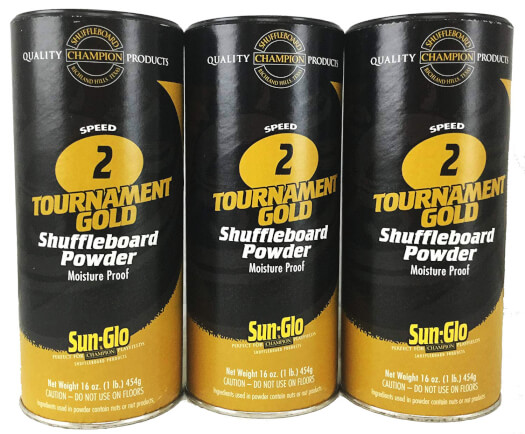 Sun-Glo Speed 2 Shuffleboard Powder (Pack of 24)