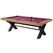 Meteor Luxury Slate Bed American Pool Table