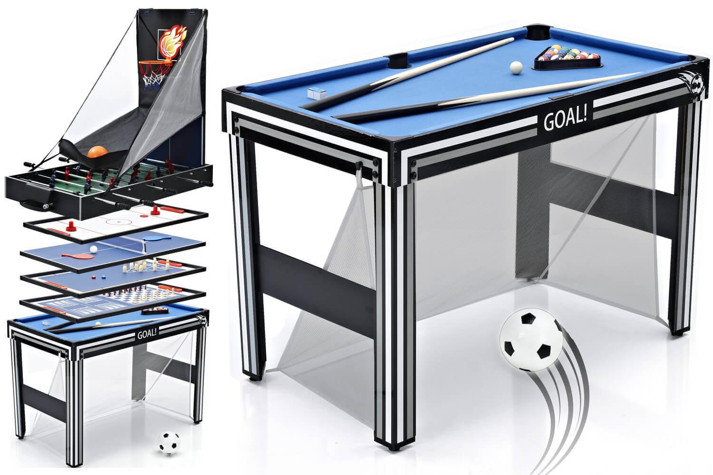 - Tekscore Goal 21-in-1 4ft Multi Games Table Liberty Games