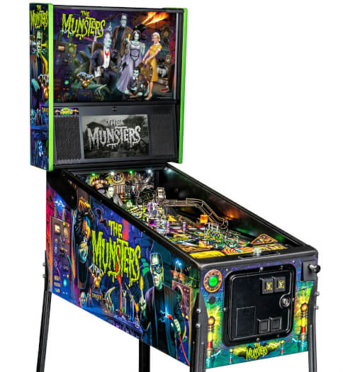 Stern The Munsters Pro Pinball Machine Liberty Games