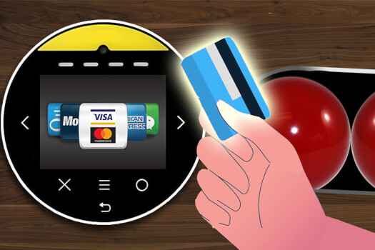 Pool Table On-Site Contactless Payment Upgrade