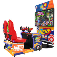 Raw Thrills Nerf Arcade Shooting Game