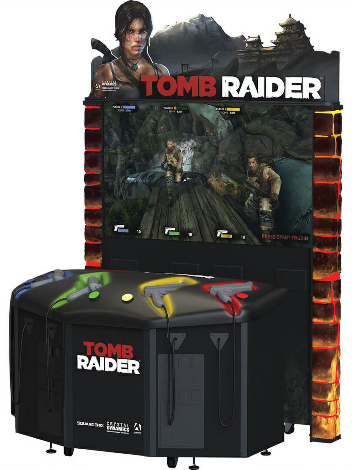 Neon Signs For Sale >> Tomb Raider Arcade Machine | Liberty Games