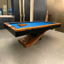The Flow Slate Bed Pool Table