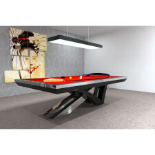 The Stellar Slate Bed Pool Table