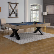 The Pureline Texas 8ft Slate Bed Pool Table