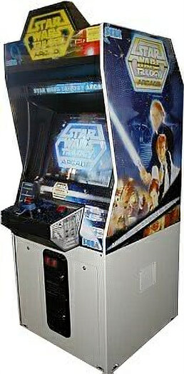 Sega Star Wars Trilogy Arcade Machine