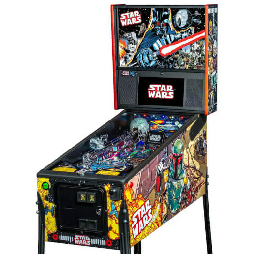 Stern Star Wars Comic Art Premium Pinball