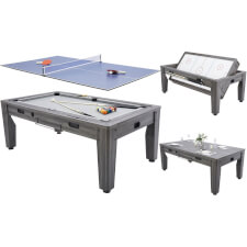 Pureline 7ft Multi Games & Dining Table