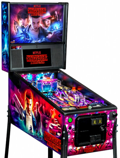Stern Stranger Things Pro Pinball Machine