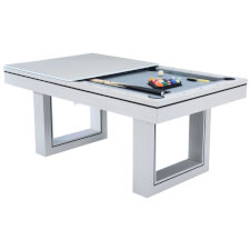 Amalfi II Pool Dining Table & Table Tennis Top