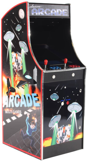 Cosmic Supernova 6000 Multi Game Arcade Machine