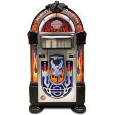 Rock-Ola Harley-Davidson Flames CD Jukebox