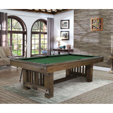 Nebraska Slate Bed 8ft American Pool Table