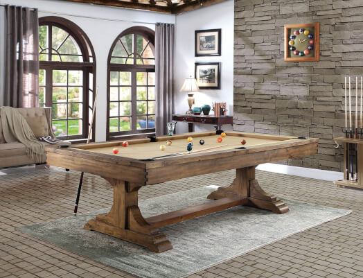 Wyoming Slate Bed 8ft American Pool Table