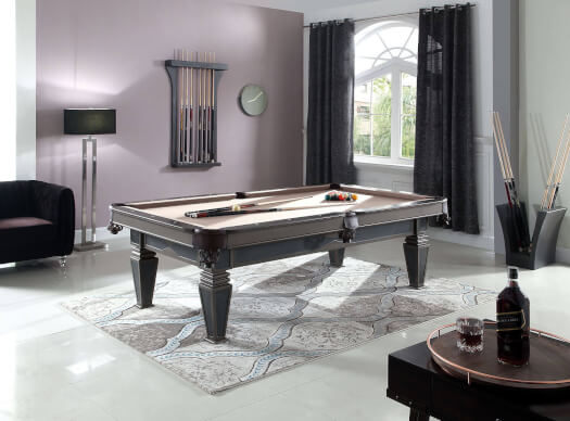 Houston Slate Bed 8ft American Pool Table