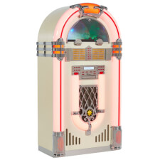 Pureline 128V Retro Bluetooth CD & Vinyl XL Jukebox