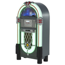 Pureline 105V Retro Bluetooth, CD & Vinyl Jukebox