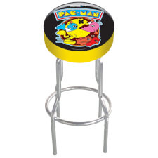 Arcade1Up Pac-Man Adjustable Arcade Stool