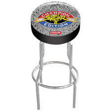 Arcade1Up Street Fighter II Adjustable Arcade Stool