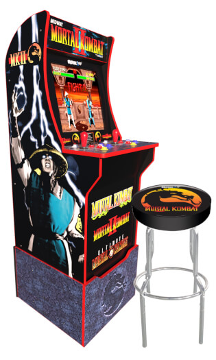 Arcade1Up Mortal Kombat II™ Arcade inc. Stool & Riser