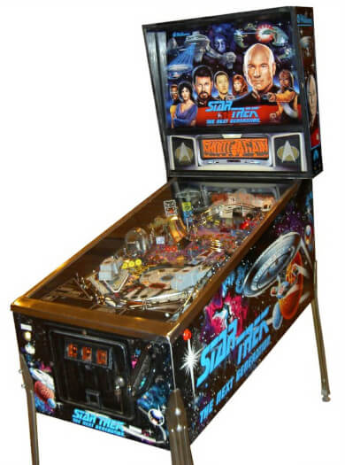 Star Trek: The Next Generation Pinball Machine