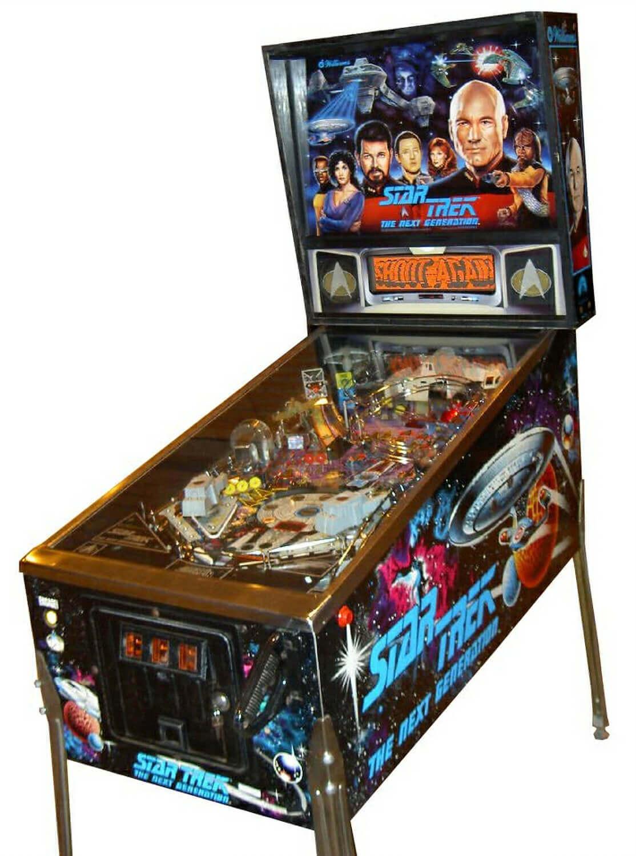 Star Trek: The Next Generation Pinball Machine | Liberty Games