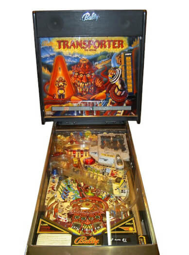 Transporter The Rescue Pinball Machine