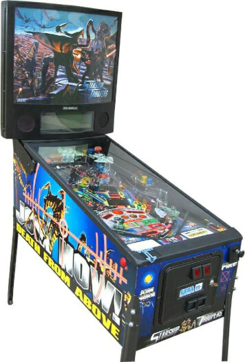 Starship Troopers Pinball Machine