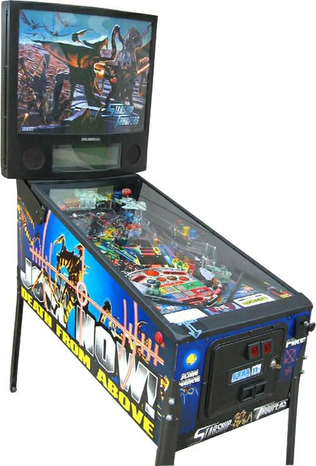 Starship Troopers Pinball Machine Liberty Games