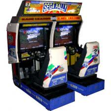 Sega Rally Championship Twin Arcade Machine