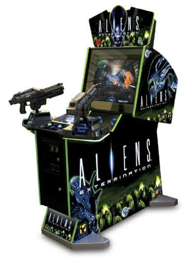 Global VR Aliens Extermination Arcade Machine