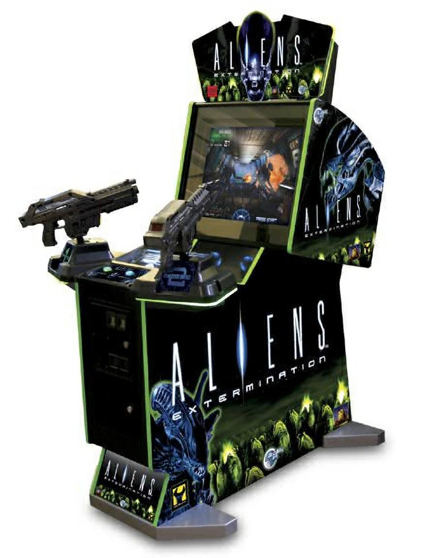 aliens machine