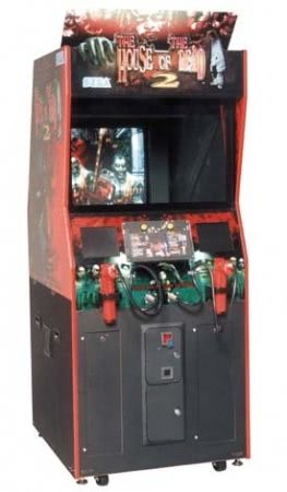 house of the dead arcade machine